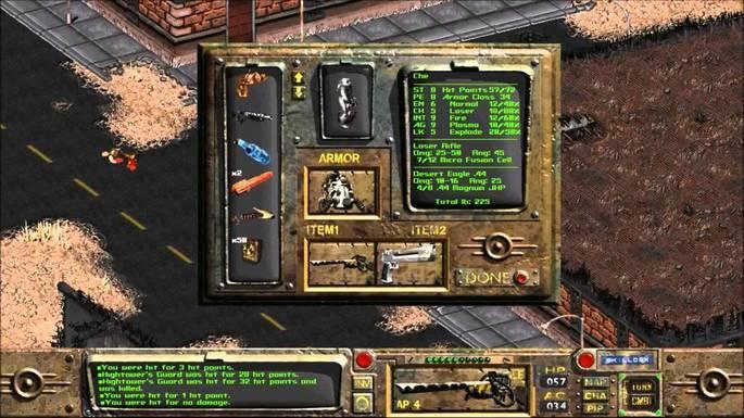 Fallout - Juegos antiguos PC