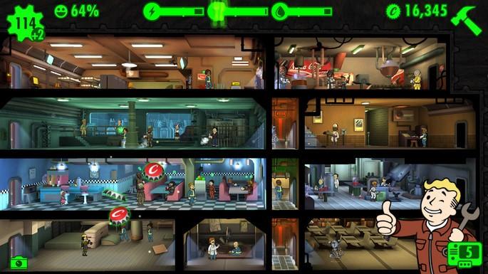 Fallout Shelter - Juegos para Android sin Internet