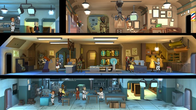 Fallout Shelter gratis Steam