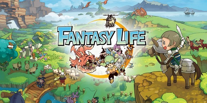 Fantasy Life - Mejores juegos 3DS
