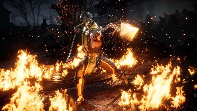 Fatalities Mortal Kombat 11 personajes juego base