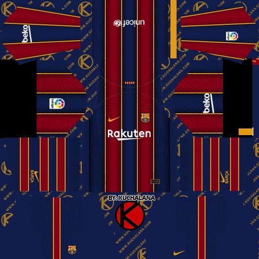 Barcelona Dream League Soccer Kit