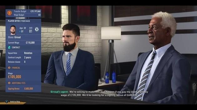 FIFA 19 Contratar mejores jugadores