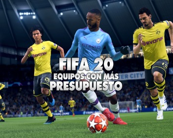 FIFA 20: los equipos con más presupuesto para el Modo Carrera