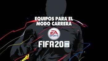 FIFA 20: 16 equipos recomendados para el Modo Carrera