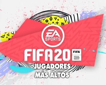 FIFA 20: descubre los 30 jugadores más altos del juego