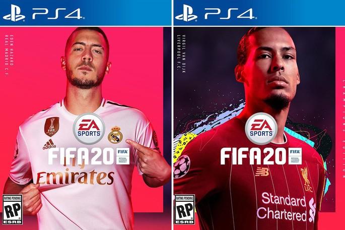 FIFA 20 portada Estándar y Champions Edition