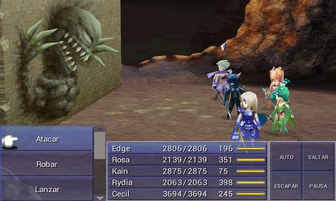 Final Fantasy IV - Mejores juegos para Android