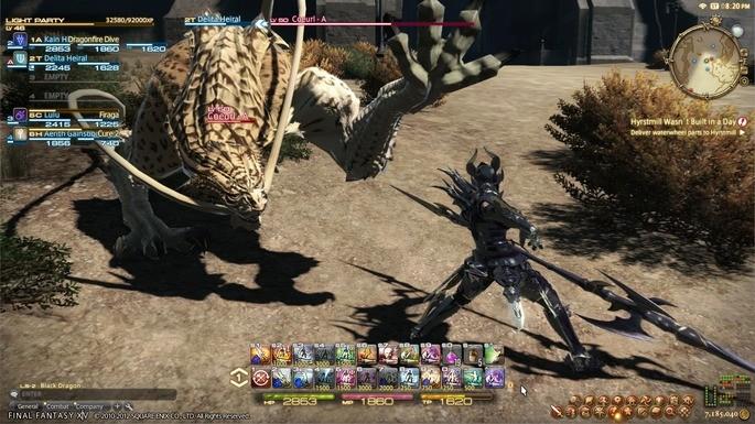 Final Fantasy XIV - Juegos de multijugador