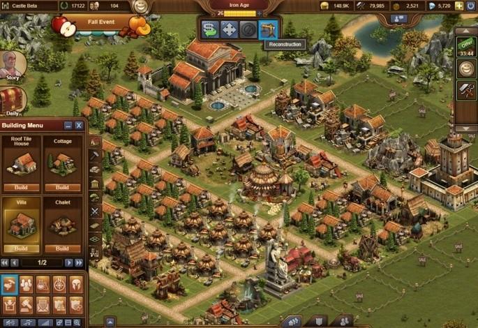 Forge of Empires - Juegos de estrategia PC gratis