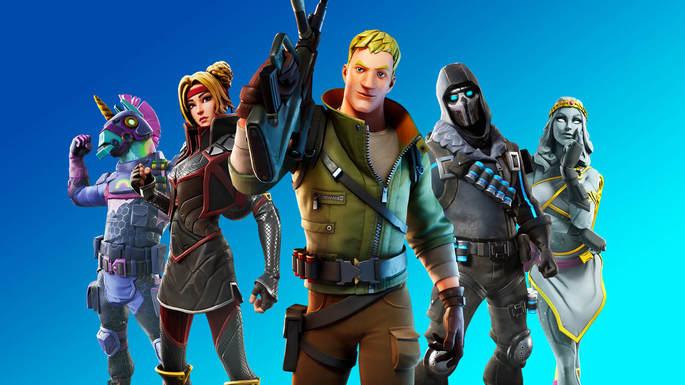 Fortnite - Juegos multijugador PS4
