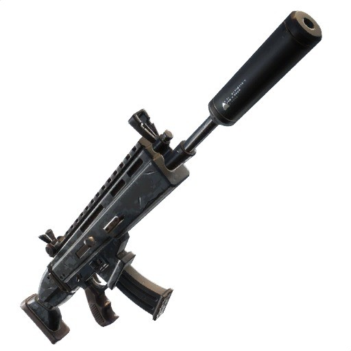 Fortnite Rifle de asalto con silenciador