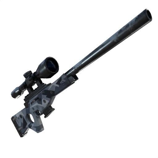 Fortnite Rifle francotirador con silenciador