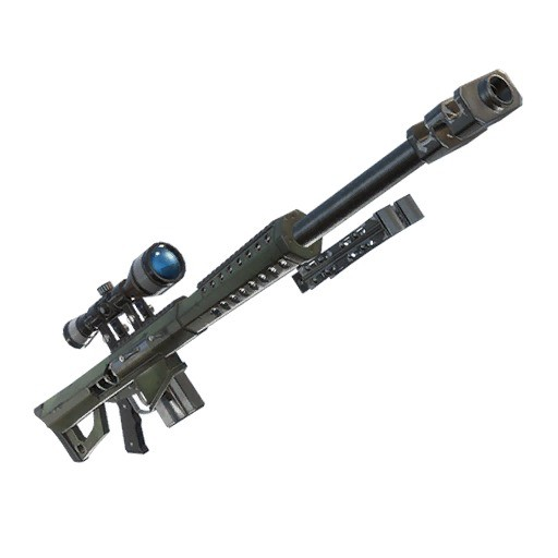 Fortnite Rifle francotirador pesado