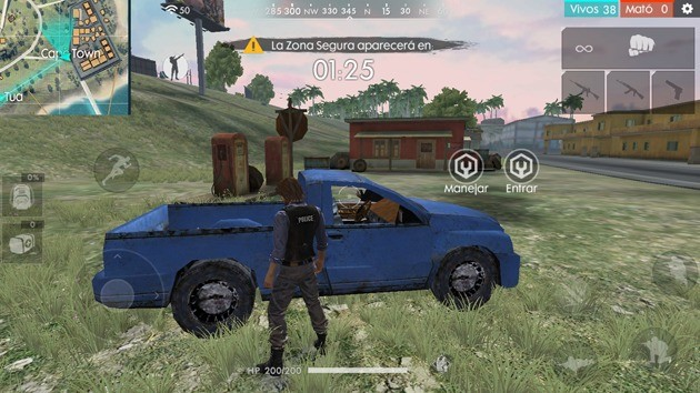 Free Fire - Vehículos: Camioneta