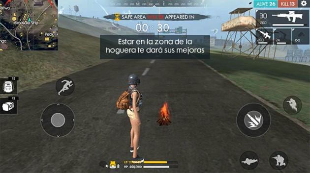 Free Fire: Fogata