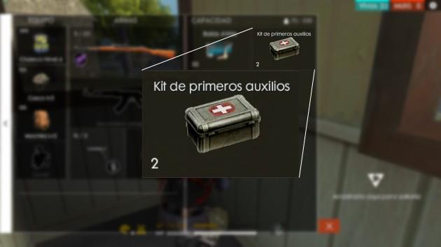 Free Fire: Kit de primeros auxilios