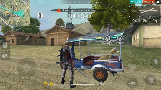 Free Fire - Vehículos: Tuk Tuk
