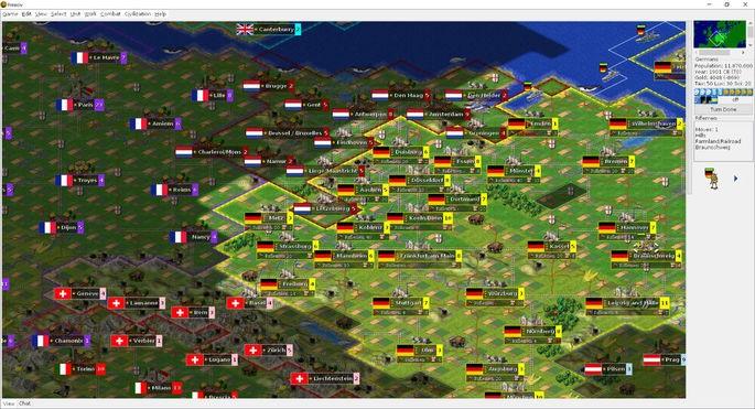 Freeciv - Juegos de estrategia PC gratis