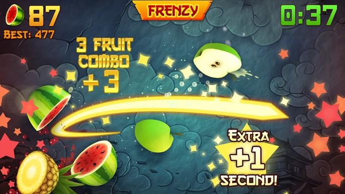 Fruit Ninja - Juegos para Android sin Internet