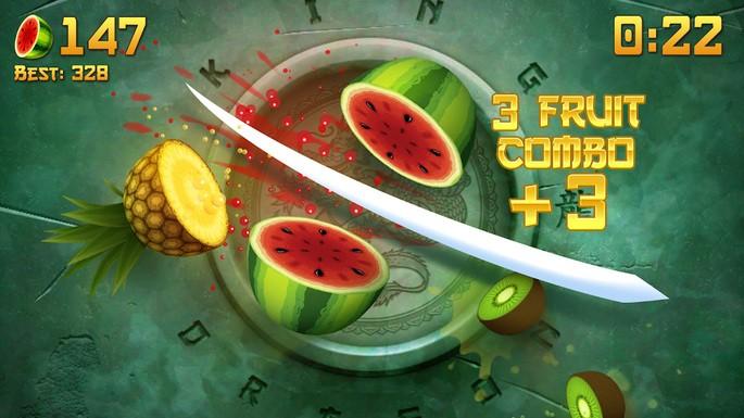 Fruit Ninja Classic - Mejores juegos para Android