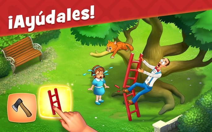 Gardenscapes - Juegos para Android sin Internet