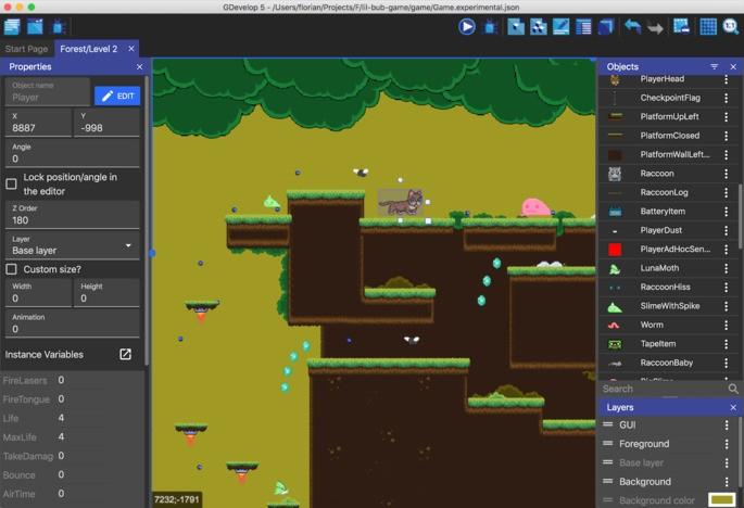 Programas para crear videojuegos - GDevelop