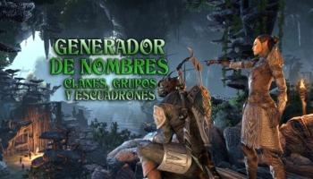 Generador de nombres para clanes, teams, grupos y escuadrones