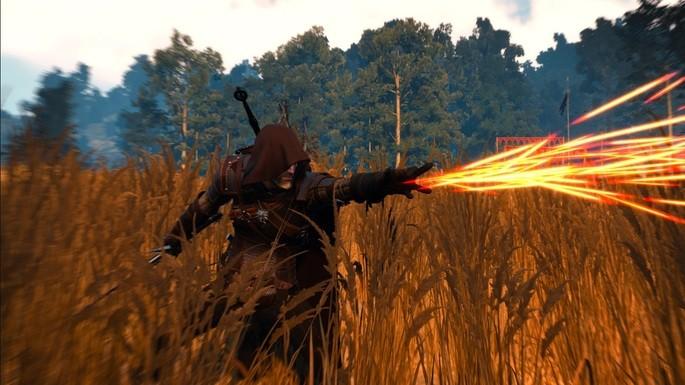 Geralt encapuchado The Witcher 3 Mods