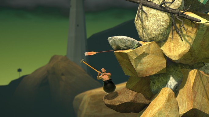 Getting Over It with Bennett Foddy - Juegos más difíciles