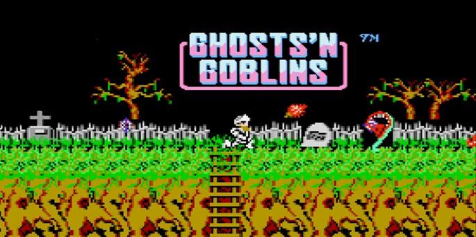 Ghosts'n Goblins - Juegos más difíciles