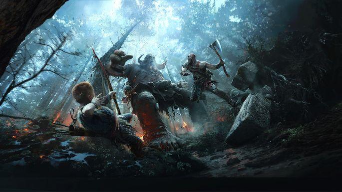 God of War - Juegos exclusivos de la PS4