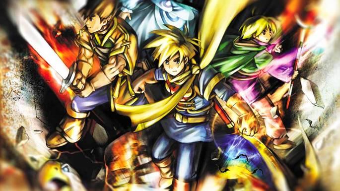 Golden Sun - Mejores juegos GBA