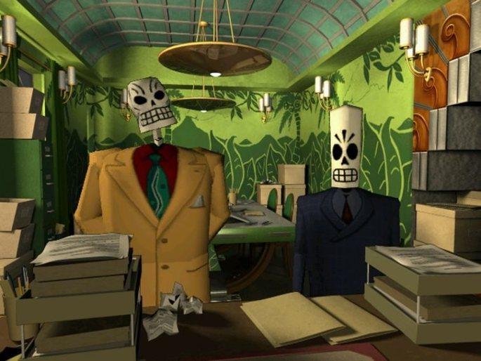 Grim Fandango - Juegos antiguos PC