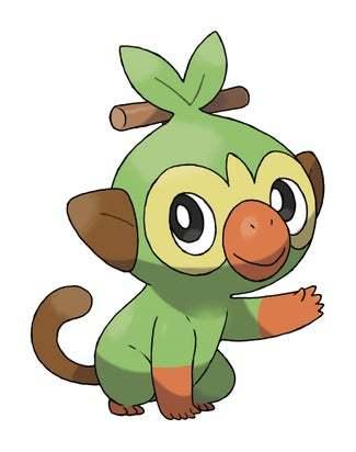 Grookey Pokémon Espada y Escudo