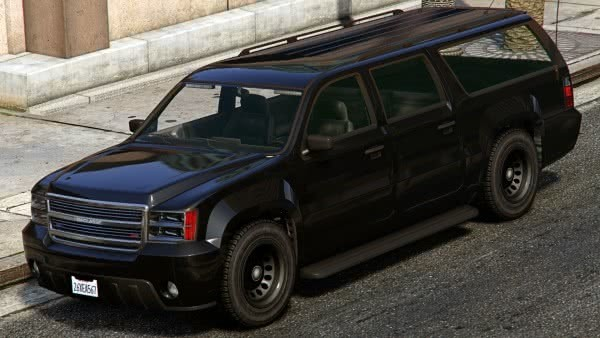 GTA 5 FIB SUV y Buffalo
