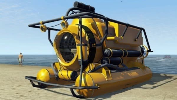 GTA 5 Submarino
