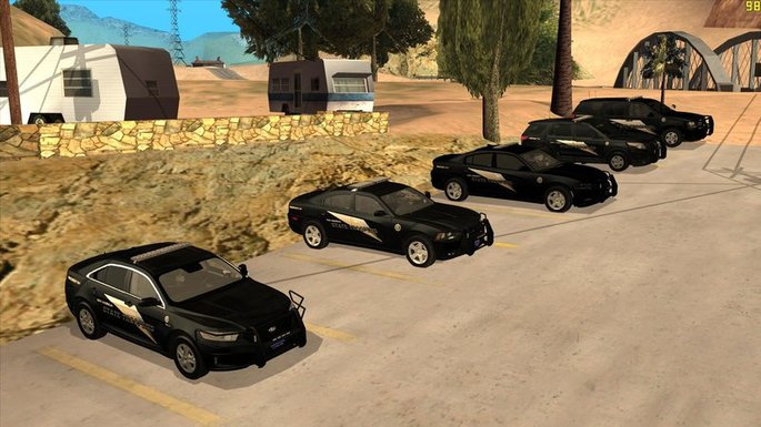 GTA San Andreas coches negros