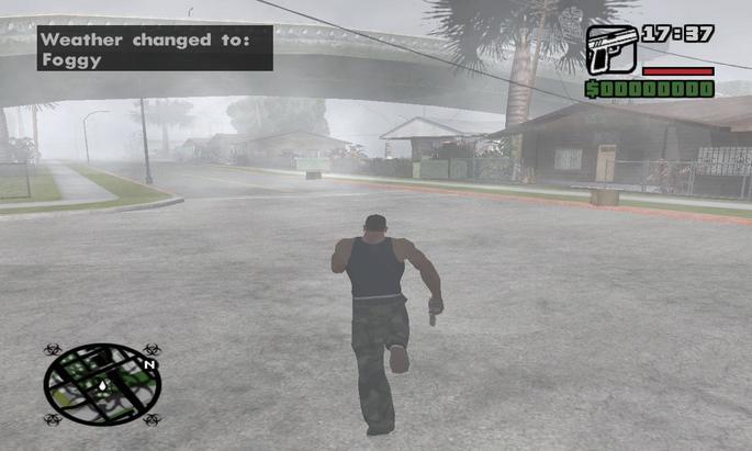 GTA San Andreas Neblina