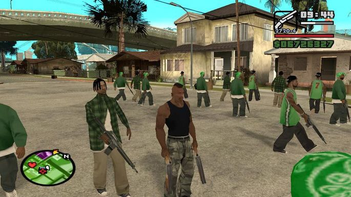 GTA San Andreas sólo bandas