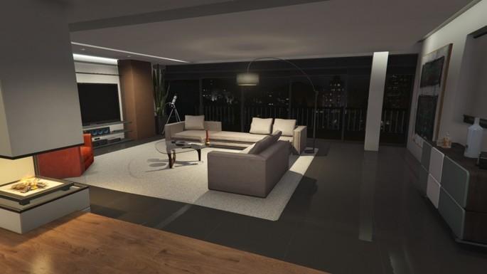 GTA V Online apartamentos