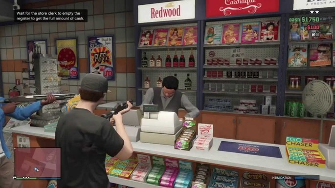 GTA V Online tiendas pequeñas