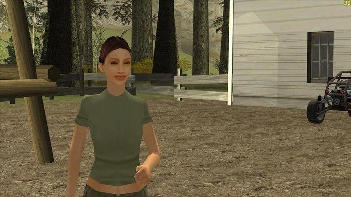 Helena Wankstein - Novias de CJ GTA San Andreas