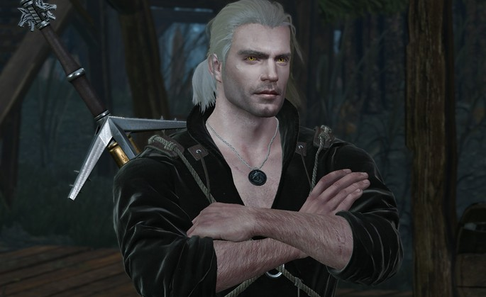 Henry Cavill The Witcher 3 mods