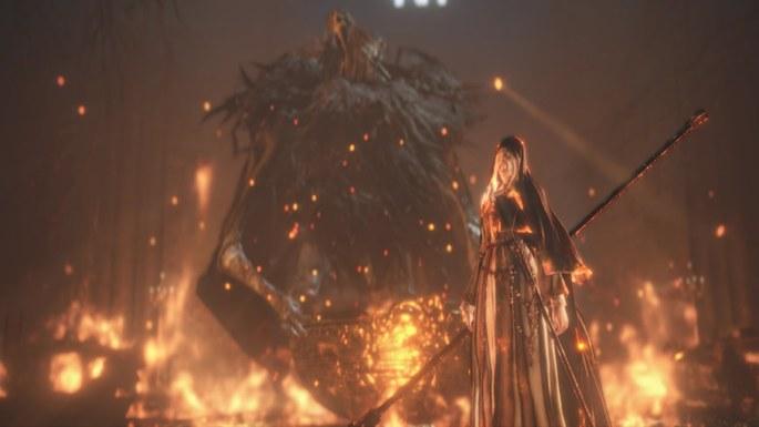 Hermana Friede - Dark Souls 3 Bosses