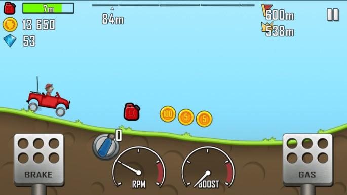 Hill Climb Racing - Juegos para Android sin Internet
