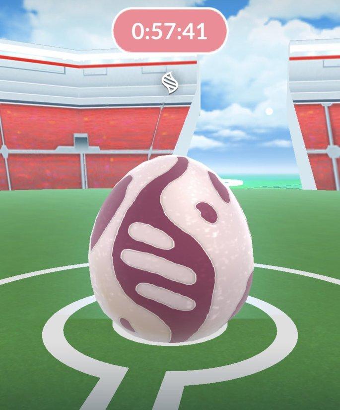 Huevos de Mega Incursión en Pokémon GO