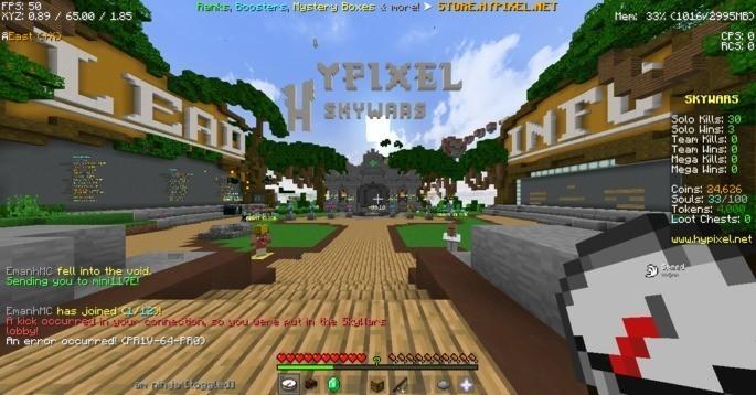 Hypixel Servidor Minecraft