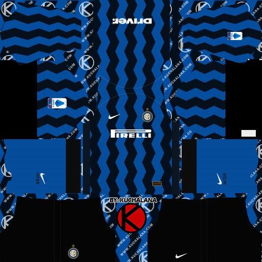 Inter de Milán Dream League Soccer kit