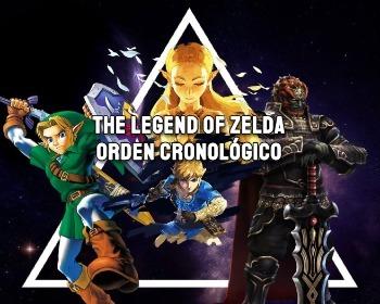 Todos los juegos de The Legend of Zelda por orden cronológico y dividido por eras (saga principal)